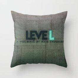 leveL - Title Throw Pillow
