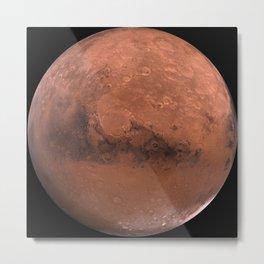 Schiaparelli Hemisphere, Mars Metal Print