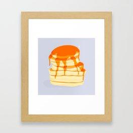 Pancakes Framed Art Print