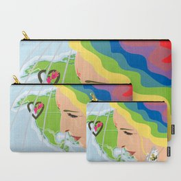 your mama loves you, no matter where you are Carry-All Pouch