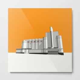 ODEON Woolwich Metal Print