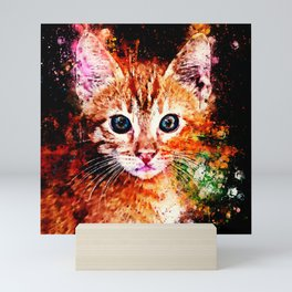 cat years wsstd Mini Art Print