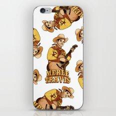 Merle Travis iPhone & iPod Skin