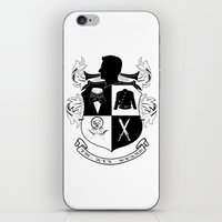 army iPhone & iPod Skins featuring Armitage Army by Circus Doll