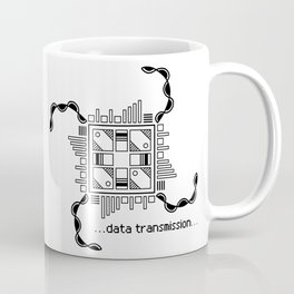 Data Transmission Coffee Mug
