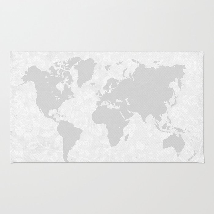 Intricate world map rug by bysamantha society6 intricate world map rug gumiabroncs Images