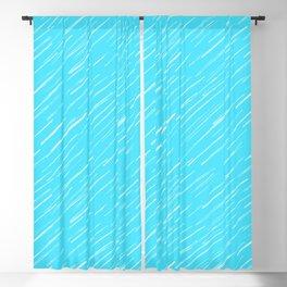19 Blue Scratch Blackout Curtain