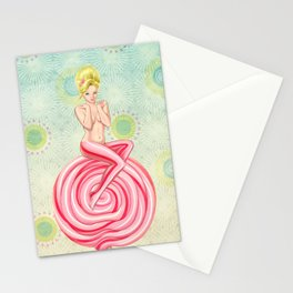 Lollipop Girl Stationery Cards