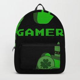 Gamerchaun Gaming Video Games St. Patrick's Day Gamer Backpack