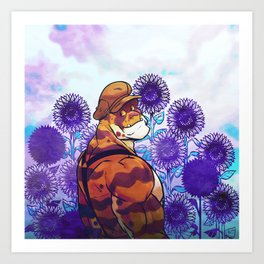 Sunflower Sanctuary Art Print