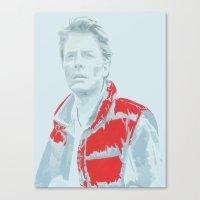 mcfly Canvas Prints featuring Hello? McFly? by Davidjonesart