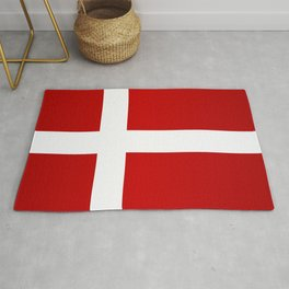 Flag of Denmark Rug