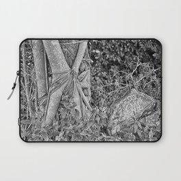 Strangler fig and boulder in the rain forest Laptop Sleeve