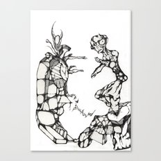 Tortured Stiff Canvas Print
