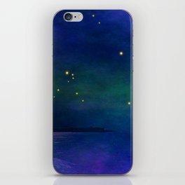Winter lights iPhone Skin