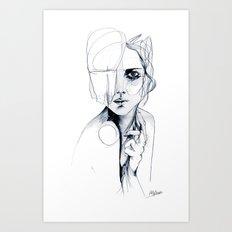 Sketch V Art Print