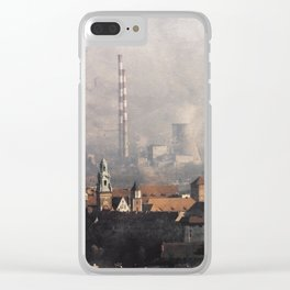 Wawel from above Clear iPhone Case