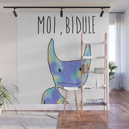 Moi, Bidule - I Wall Mural