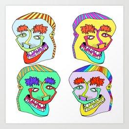 eldopuffs Art Print