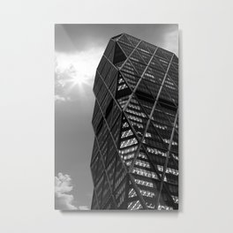 New York Architecture Metal Print