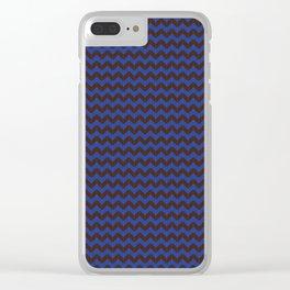 Chevron Strand Clear iPhone Case