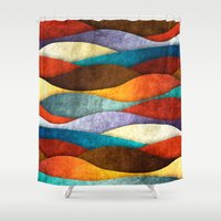 soul eater Shower Curtains featuring Bee Eater by Diogo Verissimo