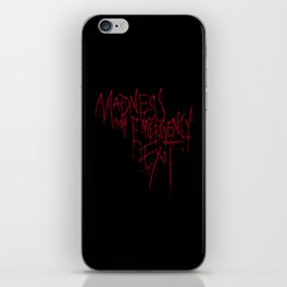 Madness Emergency Exit iPhone Skin