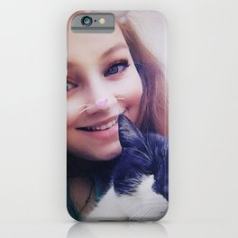 Lucinda and Holly iPhone Case