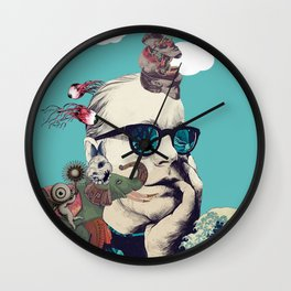 Thinking Out Loud Wall Clock