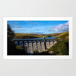 Craig Goch Dam Art Print