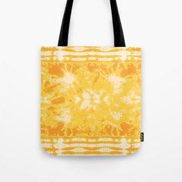 Shibori Beach Sun Tote Bag