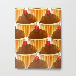 Cupcake Display Metal Print