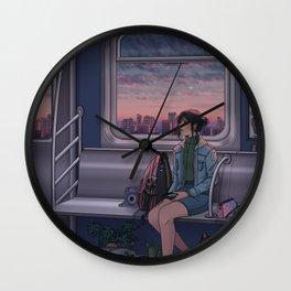 Painted Skies Wall Clock