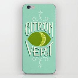 Citron Vert (Lime) iPhone Skin