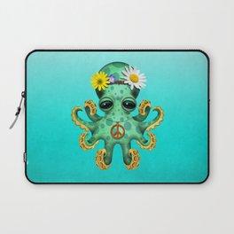 Cute Baby Octopus Hippie Laptop Sleeve