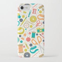 Get Crafty iPhone Case