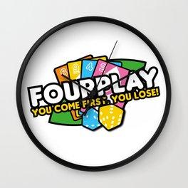 Fourplay Wall Clock
