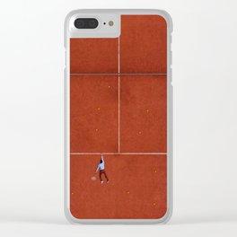 Grand Slams Clear iPhone Case