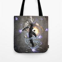 avatar Tote Bags featuring The Avatar by Toronto Sol