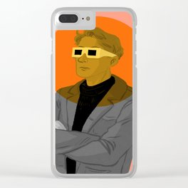 Society of the Spectacle - Portrait Clear iPhone Case