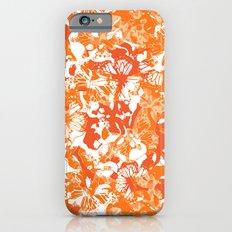 My orange butterflies iPhone 6s Slim Case