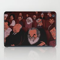 movies iPad Cases featuring At The Movies by Phil McAndrew
