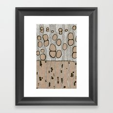 Inside White Ash 2 Framed Art Print