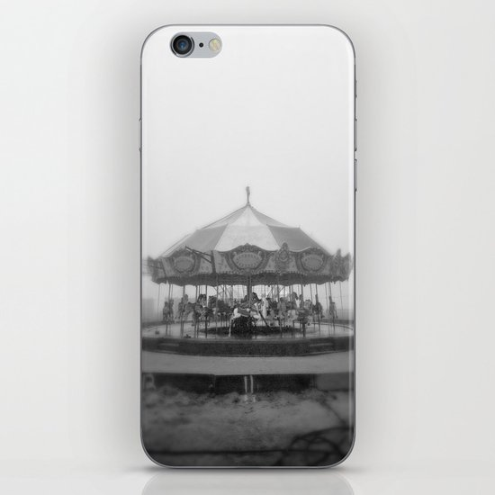 Silent Beach Park iPhone & iPod Skin