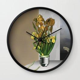 Das Licht der Pflanze Wall Clock