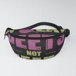 Eat Beets not meats Fanny Pack