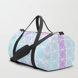 Spring Triangle Square Duffle Bag