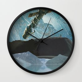 Satellite view Wall Clock