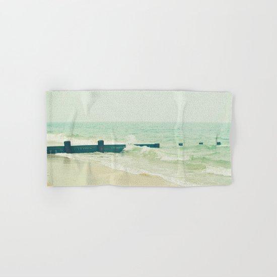 Sea Groyne Hand & Bath Towel