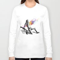battlefield Long Sleeve T-shirts featuring Color shot I by Rafapasta